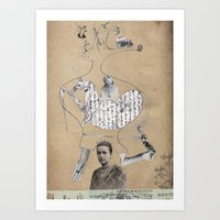 Future Is In Your Head Art Print