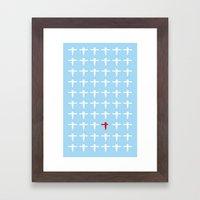 Spirited Away paper Framed Art Print
