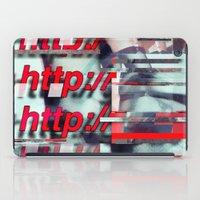 Glitch Decon 1 iPad Case