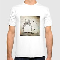 My Neighbors  Mens Fitted Tee White SMALL
