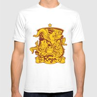 La Roja Mens Fitted Tee White SMALL