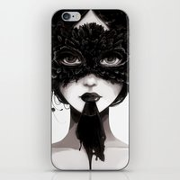 La veuve affamee iPhone & iPod Skin