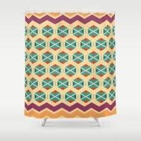 Wayuu Color Option Shower Curtain