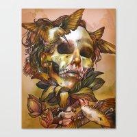 Queen of Enlightenment  Canvas Print