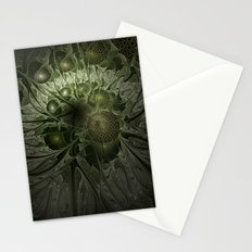 Fractal Moss Stationery Cards