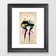 Nenufar Girl Framed Art Print