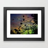 Prism Sun Framed Art Print
