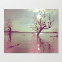 Peaceful Lake! Canvas Print
