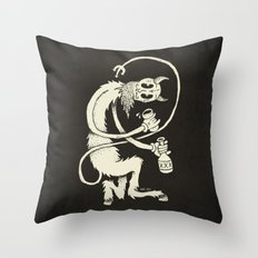 The Devil Throw Pillow
