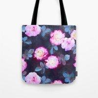Twilight Roses Tote Bag