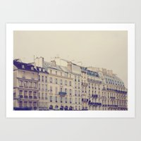 Paris Buildings  Art Print