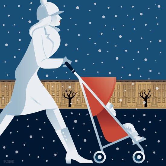 Park Slope Art Print