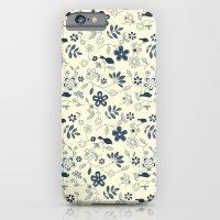 C13 birds n flowers iPhone 6 Slim Case