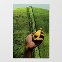 Up Hill Canvas Print