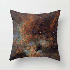 Gamma Cygni Nebula Throw Pillow