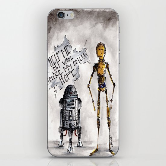 You're My Only Hope iPhone & iPod Skin