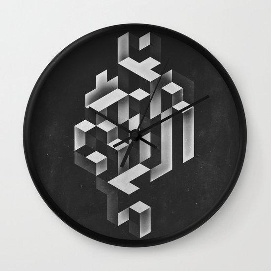 isyhyrrt gryy Wall Clock