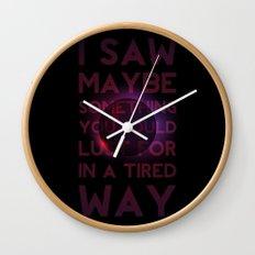 Drainage Wall Clock