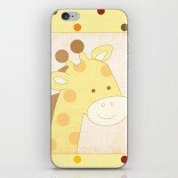 Giraffe Jungle Series Pr… iPhone & iPod Skin