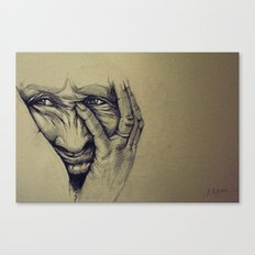 Worry Canvas Print