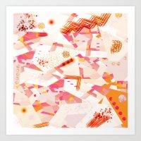 Burning Desires Art Print