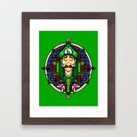 Luigi's Lament Framed Art Print