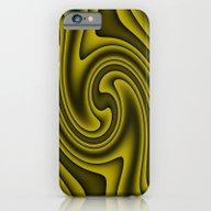 Cosmic Gold Twirls iPhone 6 Slim Case