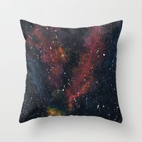 Delta Waves Throw Pillow