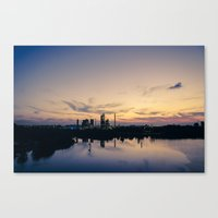 City of Industry Canvas Print