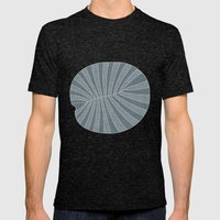 Dickinsonia Lime Mens Fitted Tee Tri-Black SMALL