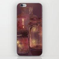 Flickering Stars iPhone & iPod Skin