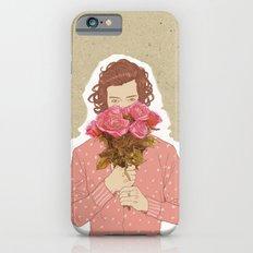 Flower Power - Salmon Red iPhone 6 Slim Case