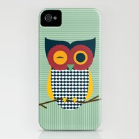 iPhone Cases featuring Owl by The Paper Shop