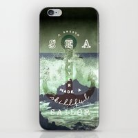 THE SAILOR QUOTE iPhone & iPod Skin