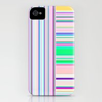 iPhone 4s & iPhone 4 Cases featuring Re-Created Lines & Stripes 5 by Robert S. Lee by Robert S. Lee