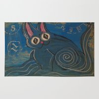 Wave Kitty Rug