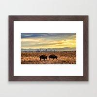 Home On The Front Range Framed Art Print