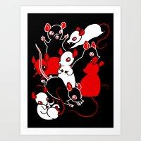 Oh Rats! Art Print