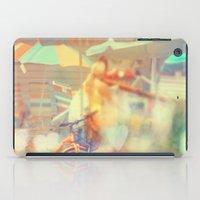 Seaside Town iPad Case