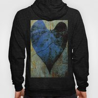 Blue Heart Hoody