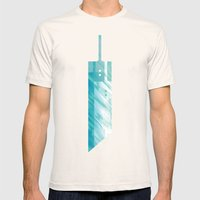 Final Fantasy VII Mens Fitted Tee Natural SMALL