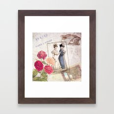 Duo for Piano and Violin Framed Art Print