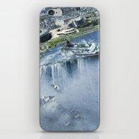 Earth Falls Away iPhone & iPod Skin