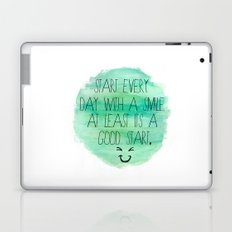 Start With a Smile Laptop & iPad Skin