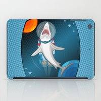 Shark In Space iPad Case