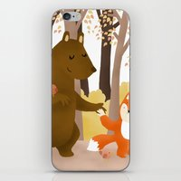 Friends of the forest iPhone & iPod Skin