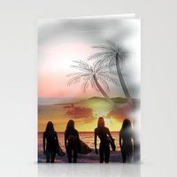 Surf Watch Stationery Cards