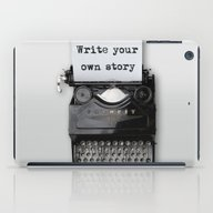 Write Your Own Story iPad Case