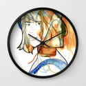 Portraits, Ann. Wall Clock
