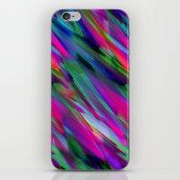 Colorful digital art splashing G400 iPhone & iPod Skin